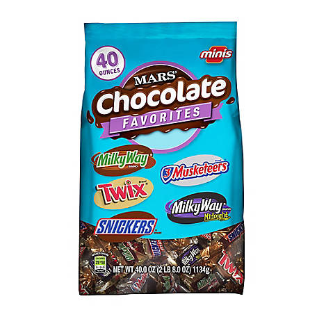 Mars Chocolate Minis Size Candy Variety, 209-01313