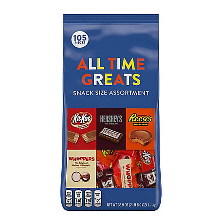 Hershey's All Time Greats Snack Size Hershey Assortment, 246-00013