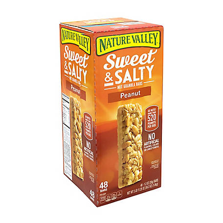 NATURE VALLEY Sweet Salty Nut Granola Bars, 220-00449