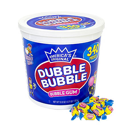 Dubble Bubble, 53.9 oz., 340 ct.,  220-00023