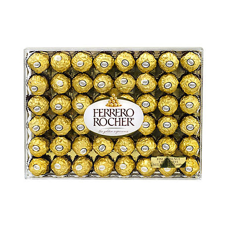 FERRERO ROCHER Hazelnut Chocolate Diamond, 241-00015