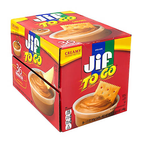 Jif To Go Peanut Butter DippiCups, 220-00535