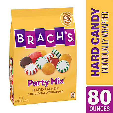 Brach's Party Mix Hard Candy, 5 lb., 220-00723
