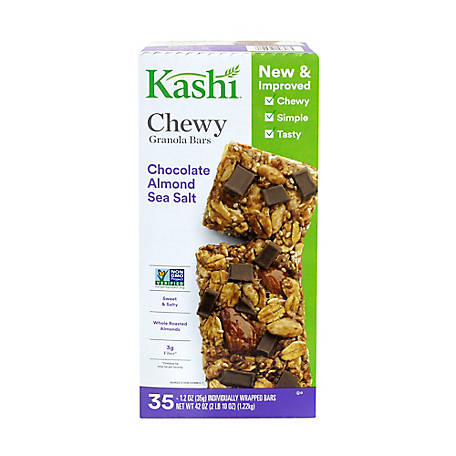 Kashi Chocolate Almond Sea Salt with Chia, 220-00432