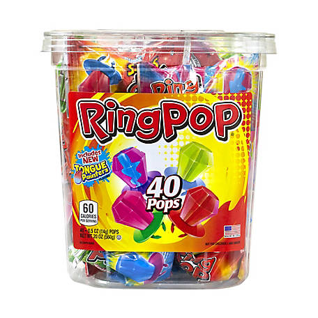 Ring Pop Candy, 40 ct., 220-00013