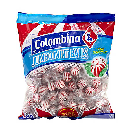 Colombina Columbina Jumbo Peppermint Balls 120 ct., 225-00039