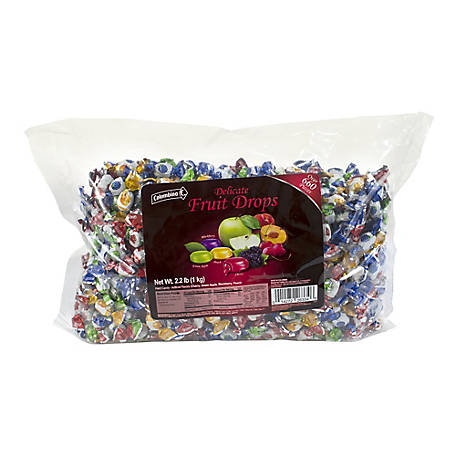 Colombina Mini Fruit Filled Assortment 22 lb., 269-00002