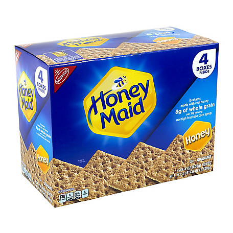 Nabisco Honey Maid Honey Graham Crackers Value Pack, 220-00442