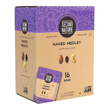 Second Nature Naked Medley, 15 oz., 16 ct., 220-00416