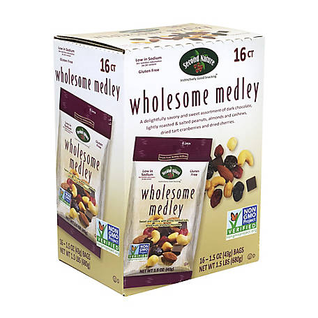 Second Nature Wholesome Medley Mixed Nut, 288-00013