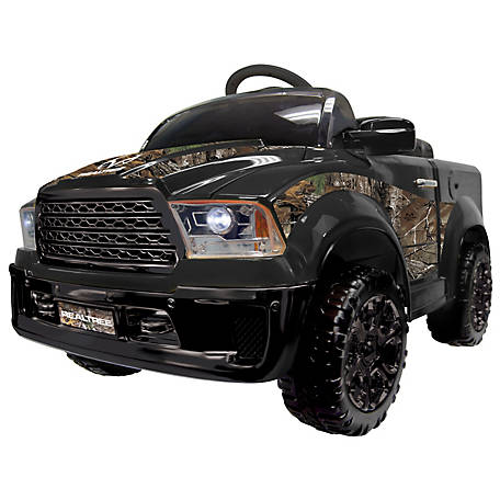 Best Ride On Cars Realtree Truck 12V, Black