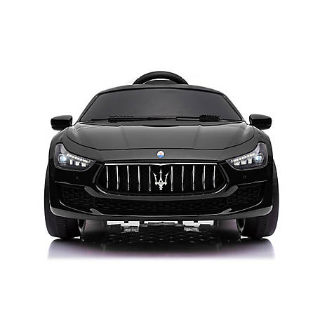 Best Ride On Cars Maserati Ghibli 12V Black, MASERATI GHIBLI 12V