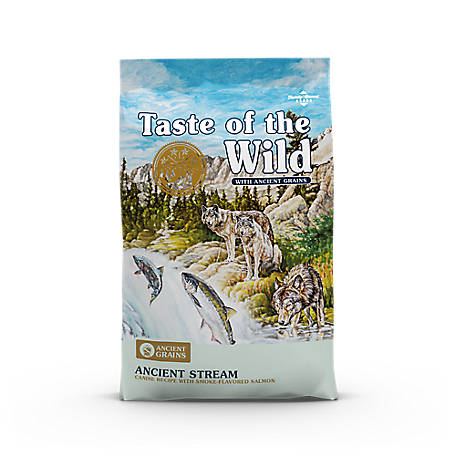 Taste of the Wild Ancient Stream Canine Recipe with Smoked Salmon and Ancient Grains, 5 lb.