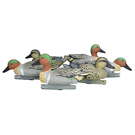 Duck Commander Green Wing Teal Decoys - Foam Filled, DC17GWTFF