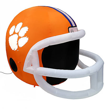 Fabrique Innovations Clemson Tigers Inflatable Helmet, FI-31650
