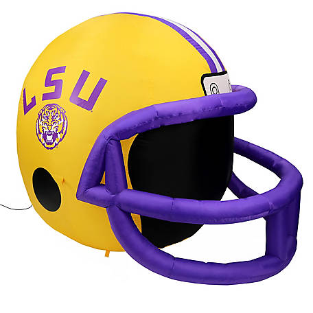 Fabrique Innovations LSU Tigers Inflatable Helmet, FI-31662