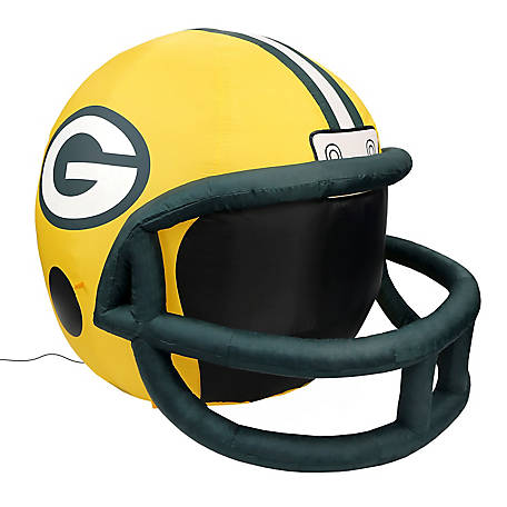 Fabrique Innovations Green Bay Packers Inflatable Helmet, FI-31712