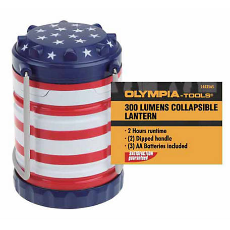 Olympia 300Lm Camping Lantern, USA, 703-130-101