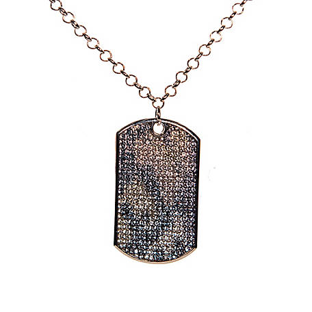 Buddy G's Camo Large Dog Tag Necklace, 35520