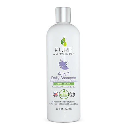 Pure and Natural Pet 4-in-1 Daily Shampoo 16 oz., PN259