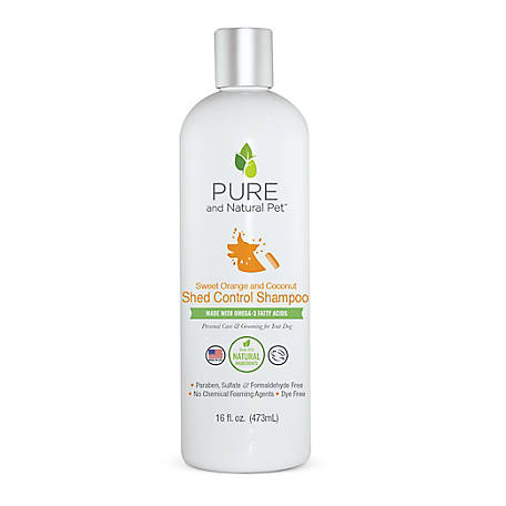Pure and Natural Pet Shed Control Shampoo, PN223
