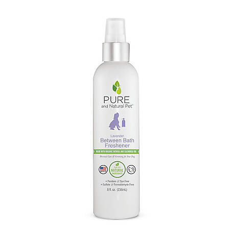 Pure and Natural Pet Between Bath Freshener Lavender, PN225B8OZ