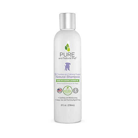 Pure and Natural Pet Tearless and Calming Puppy Natural Shampoo, PN2518OZ