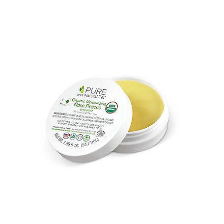 Pure and Natural Pet Organic Moisturizing Nose Rescue, PN208