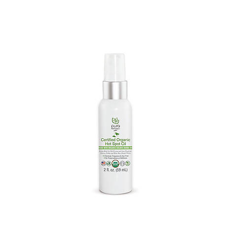 Pure and Natural Pet Certified Organic Hot Spot Oil, PN205