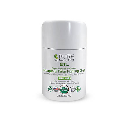 Pure and Natural Pet Organic Dental Solutions Plaque & Tarter Fighting Gel, PN806