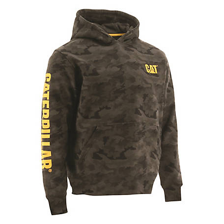 Caterpillar Men's Trademark Banner Hoodie Sweatshirt, 1910709