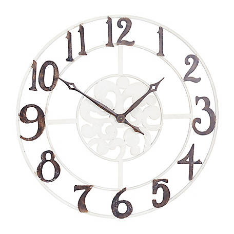 Household Essentials Large Numbers Wall Clock 2378-1