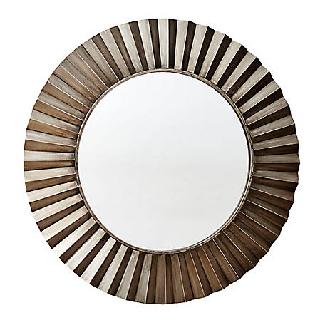 Household Essentials Bronze Sunburst Wall Mirror, 2370-1
