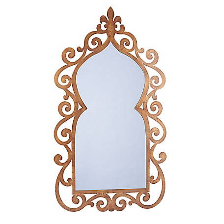 Household Essentials Scrolled Wall Mirror, 2352-1