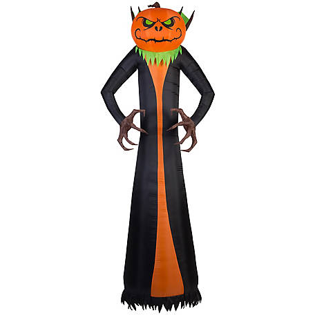 Gemmy Projection Airblown Pumpkin Reaper, G-72140