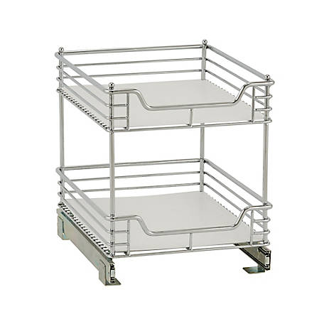 Household Essentials 2-Tier Under Cabinet Organizer, 61724-1