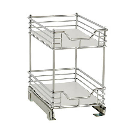 Household Essentials 11.5 in. 2-Tier Under Cabinet Organizer, 62727-1