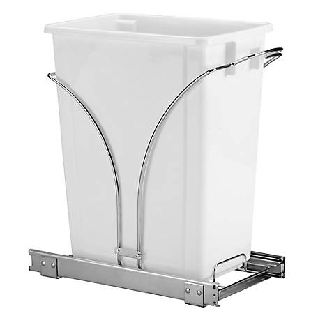 Glidez 9 gal. Pull-Out Trash Can,, C29551-1