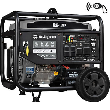 Westinghouse WPRO8500 Pro Series Portable Generator, 80003