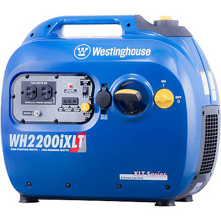 Westinghouse WH2200IXlt Inverter Generator, 10201