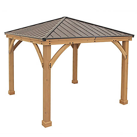 Yardistry 10 x 10 ft. Meridian Gazebo, YM11756