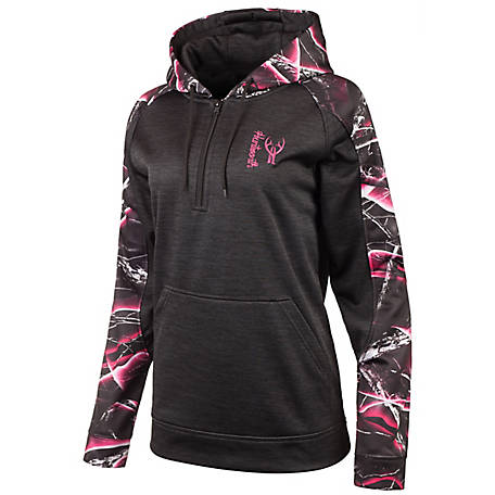 Huntworth Women's Heather Performance Hoodie, E-9149-W-HK/MX