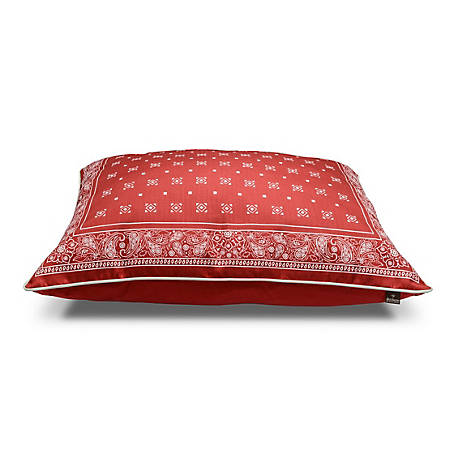 MuttNation Fueled by Miranda Lambert 31 x 41 Red Bandana Pillow, 100541434