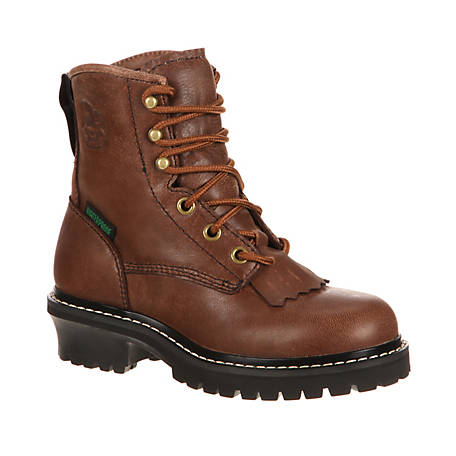 Georgia Boot Boys' Big Kids Waterproof Logger, GB00019