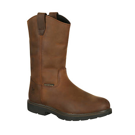 Georgia Boot Men's Suspension System Waterproof Wellington Work Boot, GB00085
