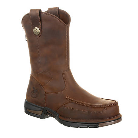 Georgia Boot Men's Athens Pull-On Work Boot, GB00226