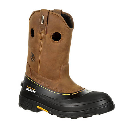 Georgia Boot Men's Muddog Composite Toe Waterproof Work Wellington, GB00243