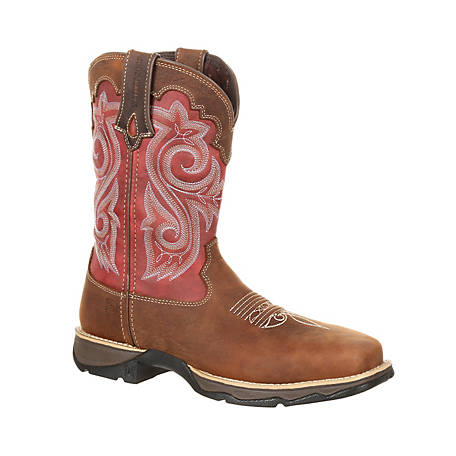 Durango Women's Briar Brown Rebel Work Boot, DRD0220