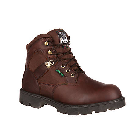 Georgia Boot Men's Homeland Waterproof Work Boots, GB00326