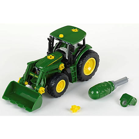 Klein John Deere Tractor Engine with Front Loader, TK-3913